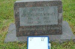 Annie Frances <i>McClendon</i> Womack