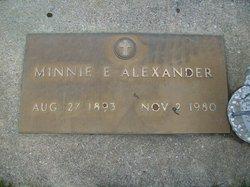 Minnie E <i>Cessna</i> Alexander