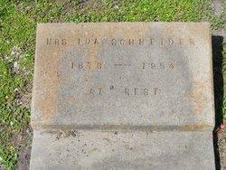Ida Helen <i>Seidel</i> Schneider
