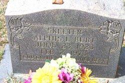 Alphis Lamar Skeeter Burt, Sr