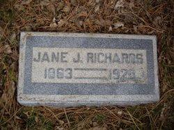 Elizabeth Jane <i>Jenkins</i> Richards
