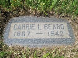 Carrie L. <i>Reed</i> Beard