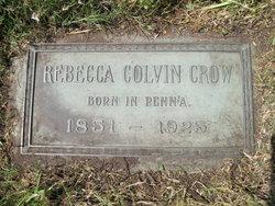 Rebecca Colvin Crow