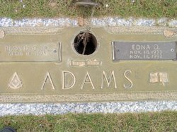 Edna Ozelma <i>Shaw</i> Adams