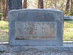 Doc Carlton York, Sr