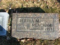 Bertha A <i>Manchester</i> Meacham
