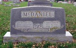 Peachie Elizabeth McDaniel