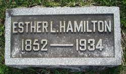 Esther L. <i>Freeman</i> Hamilton