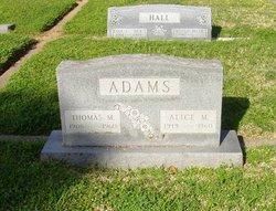 Alice Mae <i>Brisbois</i> Adams