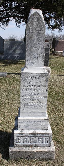 Mary Jane <i>Sampson</i> Chenoweth