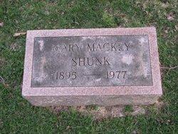 Mary <i>Mackey</i> Shunk
