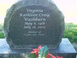 Virginia Kathleen Kaye <i>Craig</i> Washburn