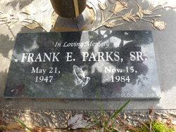 Frank E Parks, Sr