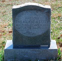 Thelma Maria Bailey