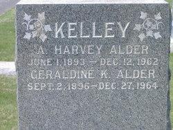 Geraldine B. <i>Kelley</i> Alder