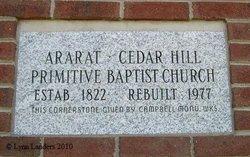 Ararat-Cedar Hill Primitive Baptist Ch Cemetery