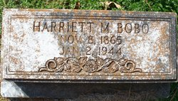 Harriet <i>Moseley</i> Bobo