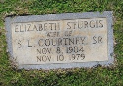 Elizabeth Lib <i>Sturgis</i> Courtney