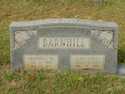 Marshall H Barnhill