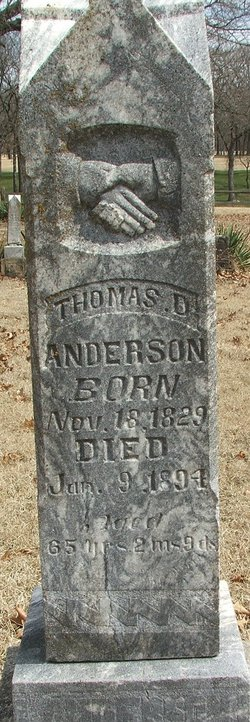 Thomas D Anderson