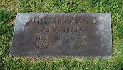 Sarah Alice <i>Blackard</i> Chapman