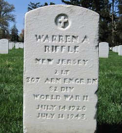 Lieut Warren A Riffle