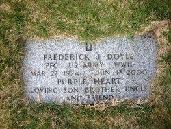 PFC Frederick Joseph Doyle