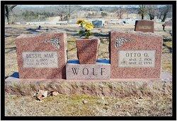 Bessie Mae <i>Collins</i> Wolf