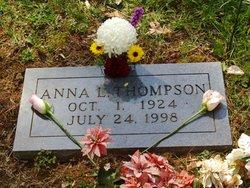 Anna Lorraine <i>Diggs</i> Thompson