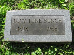 Lucy Anna <i>Tune</i> Bunch