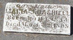 Maria J <i>Daughtrey</i> Dashiell