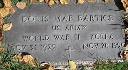 Doris Mae Bartice