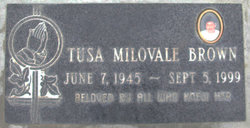 Tutusa S. Tusa <i>Milovale</i> Brown