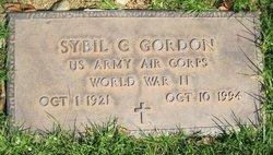 Sybil C Gordon