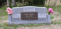 Arlon T Boone