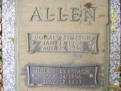 Helen <i>Krespach</i> Allen