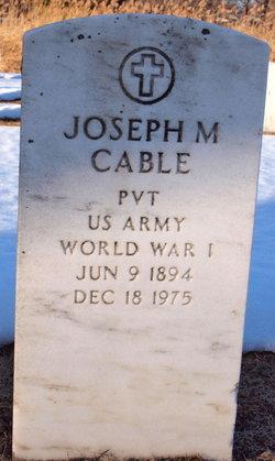 Joseph M Cable