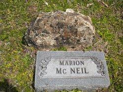 Marion McNeil