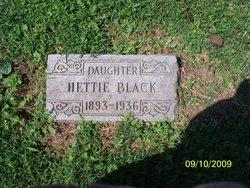 Hettie <i>Poteet</i> Black