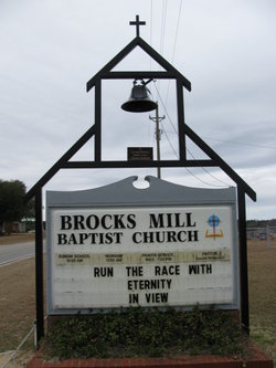 Brocks Mill Baptist Church Cemetery