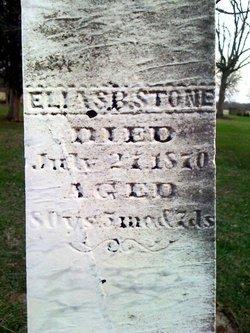 Elias Barbee Stone
