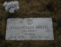 Cleo Joseph Ahler