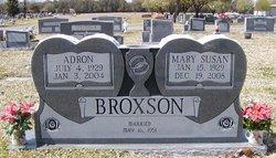 Mary Susan <i>Ritchie</i> Broxson