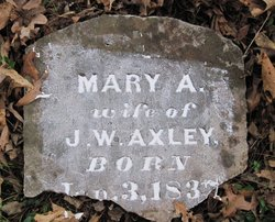 Mary A <i>McKenzie</i> Axley