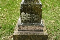 Mary A <i>Wilson</i> Blake