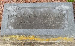 Maude Ann <i>Ball</i> Herndon