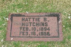 Hattie Bertha <i>Gallaher</i> Hutchins