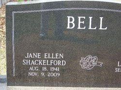 Jane Ellen <i>Shackelford</i> Bell
