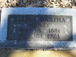 Salina Martha <i>Bragg</i> Henry