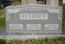 Hannah Leutitia Tish <i>LeMasters</i> Elliott